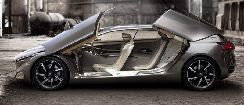2011 Peugeot HX1 Concept Shows Sumptuous Detailing and Scale, But Front-Drive Proportions 16