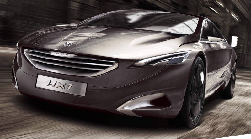 2011 Peugeot HX1 Concept Shows Sumptuous Detailing and Scale, But Front-Drive Proportions 17