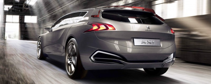 2011 Peugeot HX1 Concept Shows Sumptuous Detailing and Scale, But Front-Drive Proportions 18