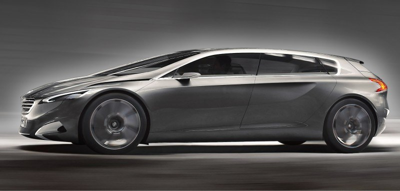 2011 Peugeot HX1 Concept Shows Sumptuous Detailing and Scale, But Front-Drive Proportions 2