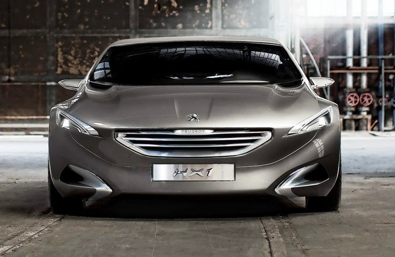 2011 Peugeot HX1 Concept Shows Sumptuous Detailing and Scale, But Front-Drive Proportions 24