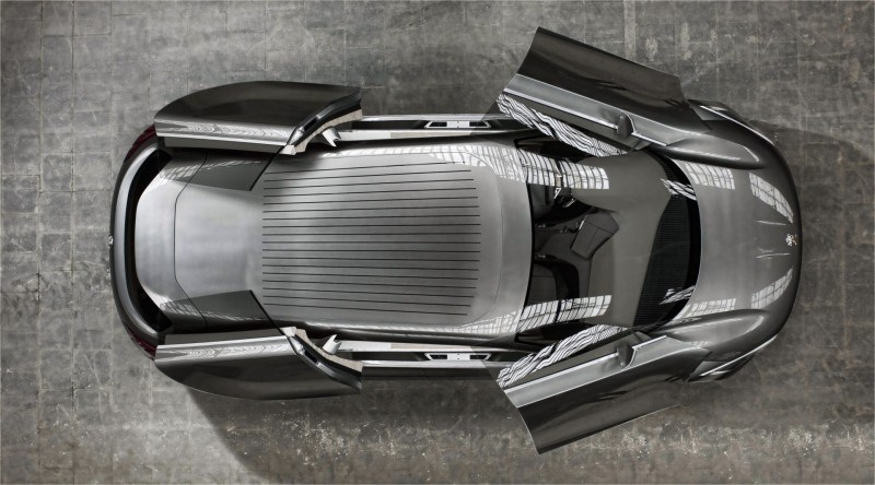2011 Peugeot HX1 Concept Shows Sumptuous Detailing and Scale, But Front-Drive Proportions 3