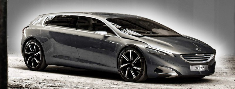 2011 Peugeot HX1 Concept Shows Sumptuous Detailing and Scale, But Front-Drive Proportions 4