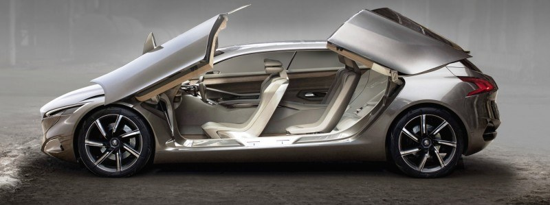 2011 Peugeot HX1 Concept Shows Sumptuous Detailing and Scale, But Front-Drive Proportions 6