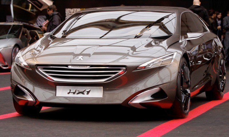 2011 Peugeot HX1 Concept Shows Sumptuous Detailing and Scale, But Front-Drive Proportions 9
