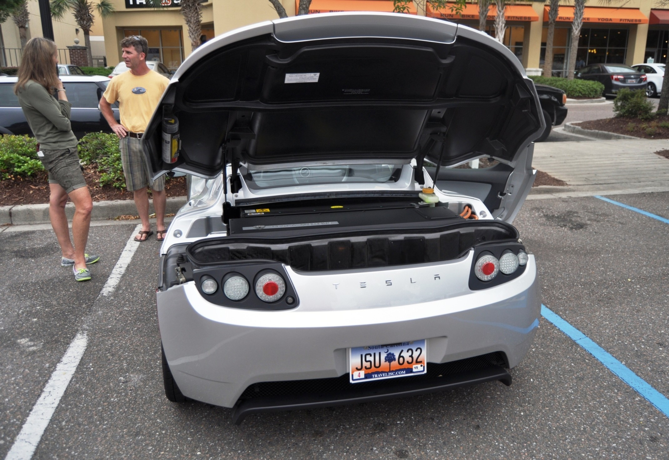 Charleston Cars And Coffee Gallery 2011 Tesla Roadster