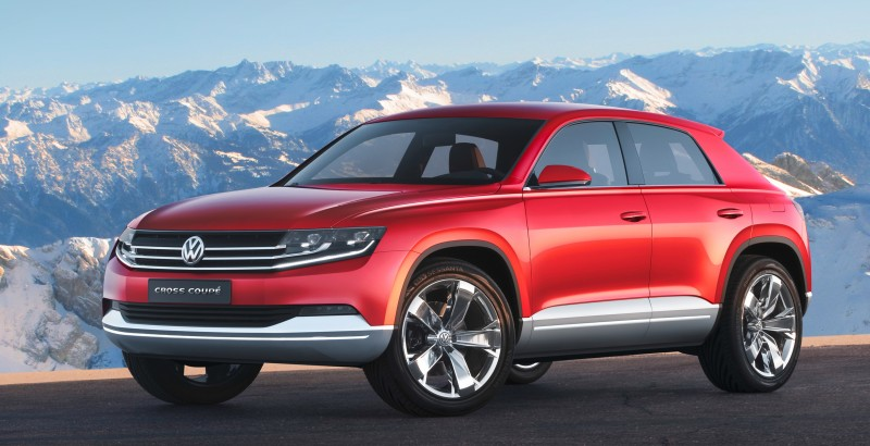 2011 Volkswagen Cross Coupe SUV Concept 12