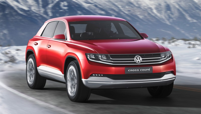 2011 Volkswagen Cross Coupe SUV Concept 15