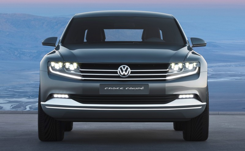 2011 Volkswagen Cross Coupe SUV Concept 22