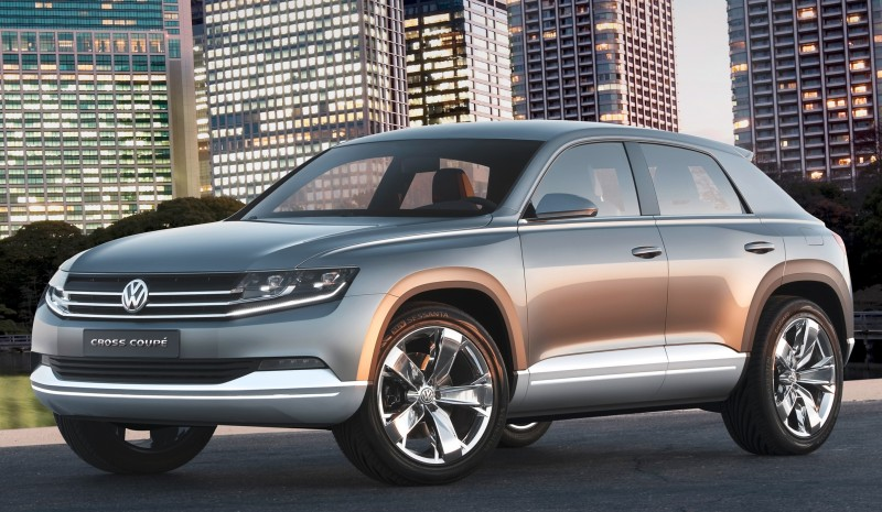 2011 Volkswagen Cross Coupe SUV Concept 24