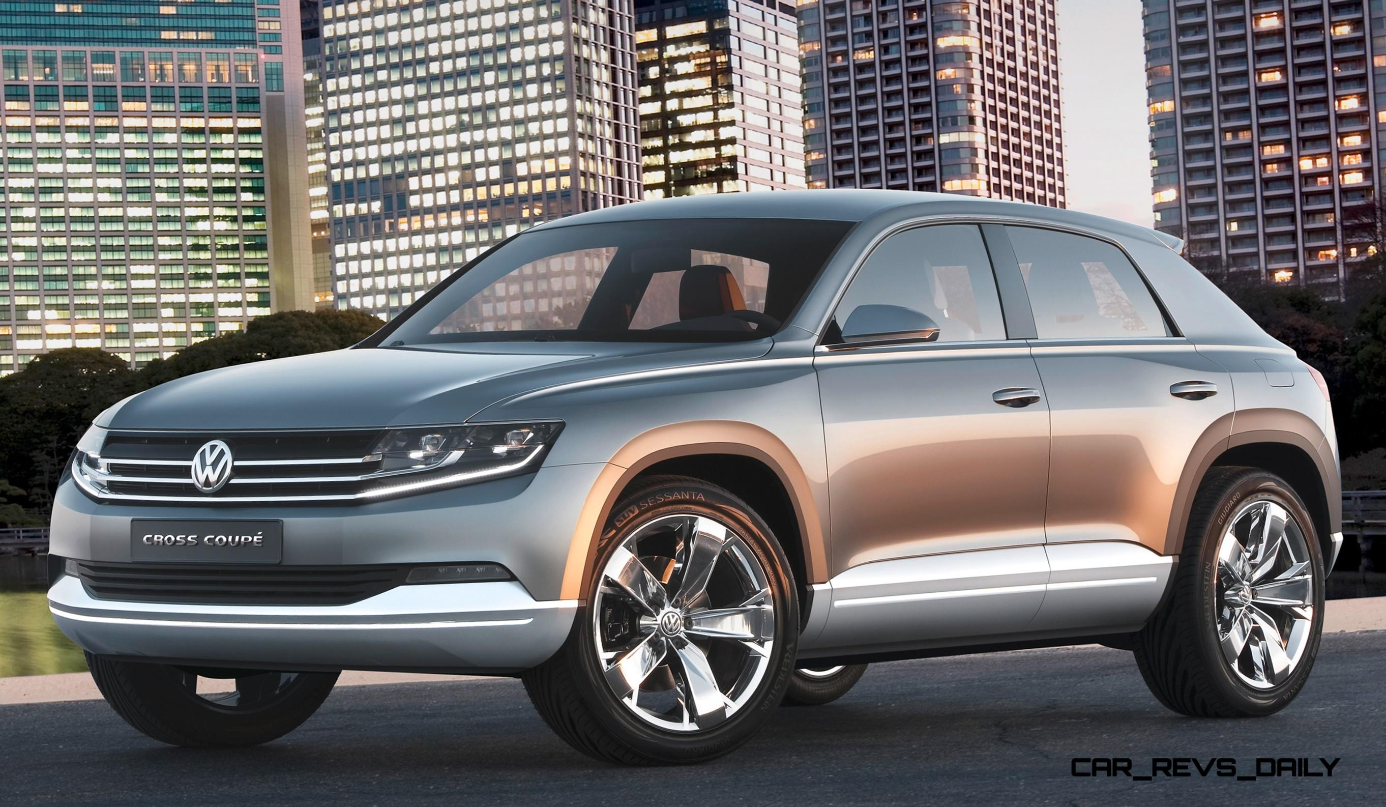 2011 volkswagen cross coupe suv concept is future mqb sized bmw x4 competitor. Black Bedroom Furniture Sets. Home Design Ideas