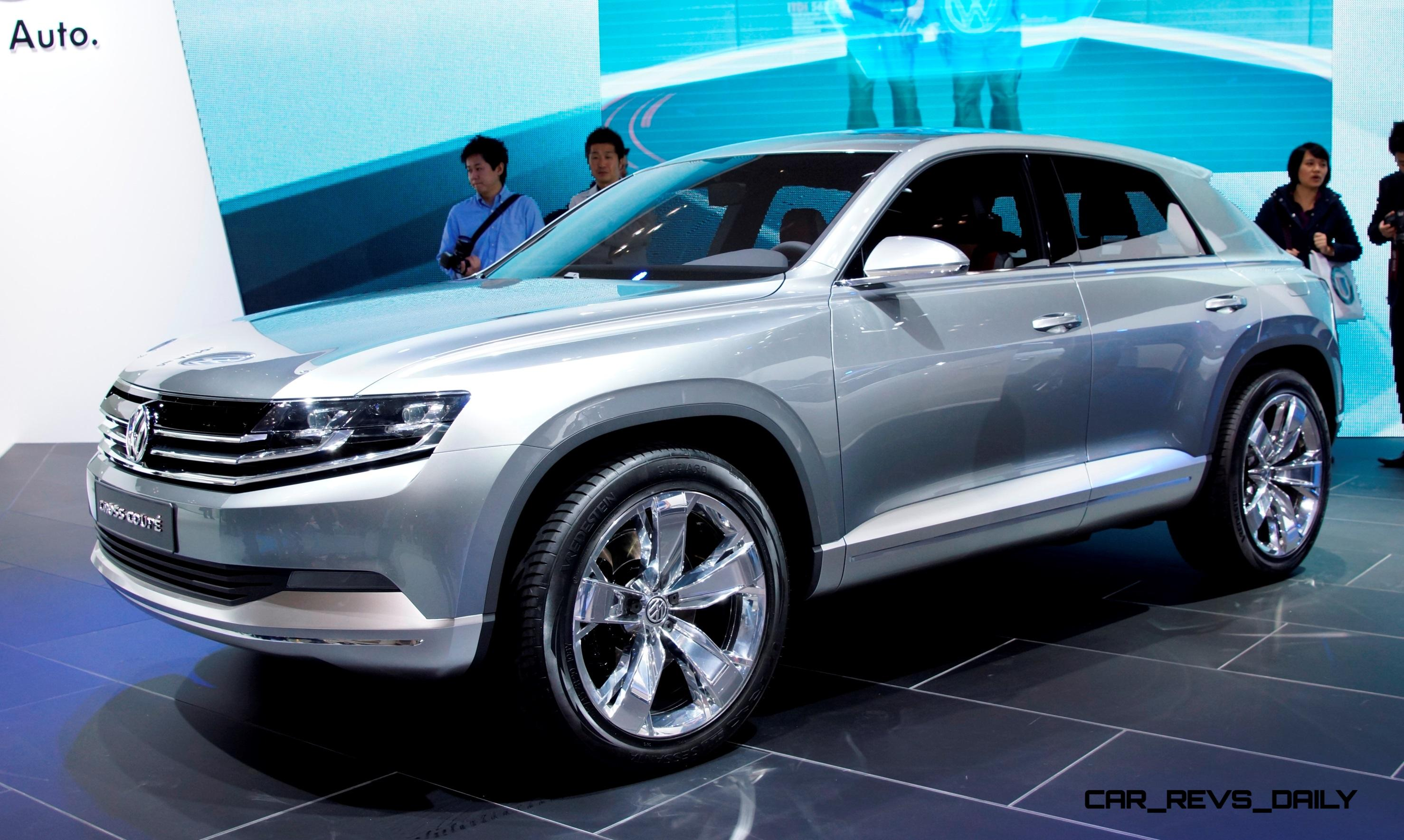2011 Volkswagen Cross Coupe SUV Concept is Future MQB-Sized BMW X4 Competitor