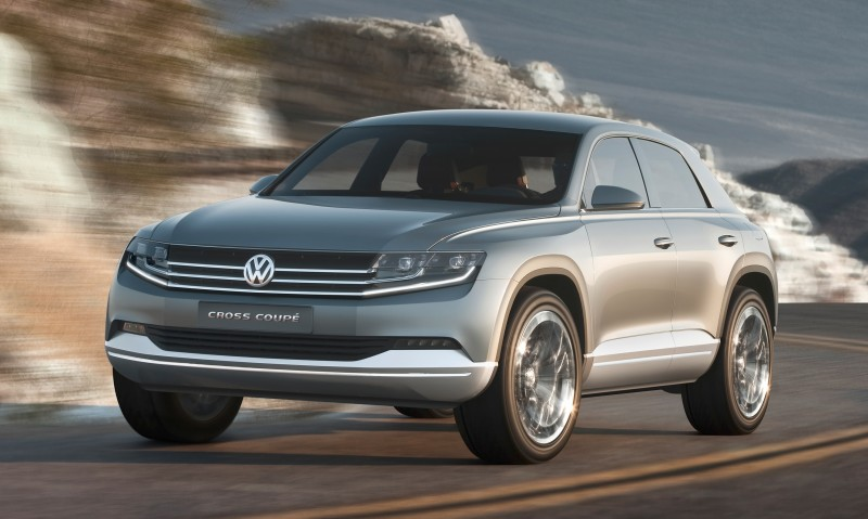 2011 Volkswagen Cross Coupe SUV Concept 33