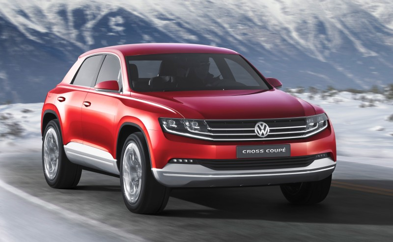 2011 Volkswagen Cross Coupe SUV Concept 36