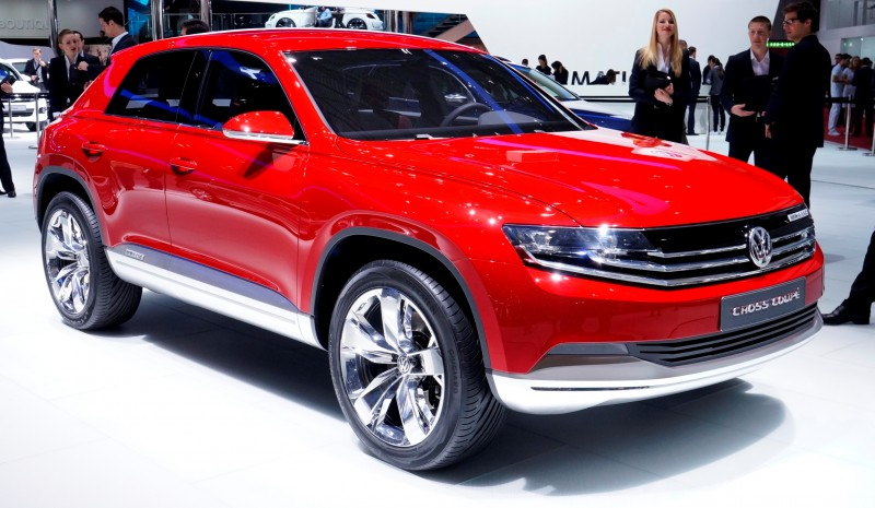 2011 Volkswagen Cross Coupe SUV Concept 6