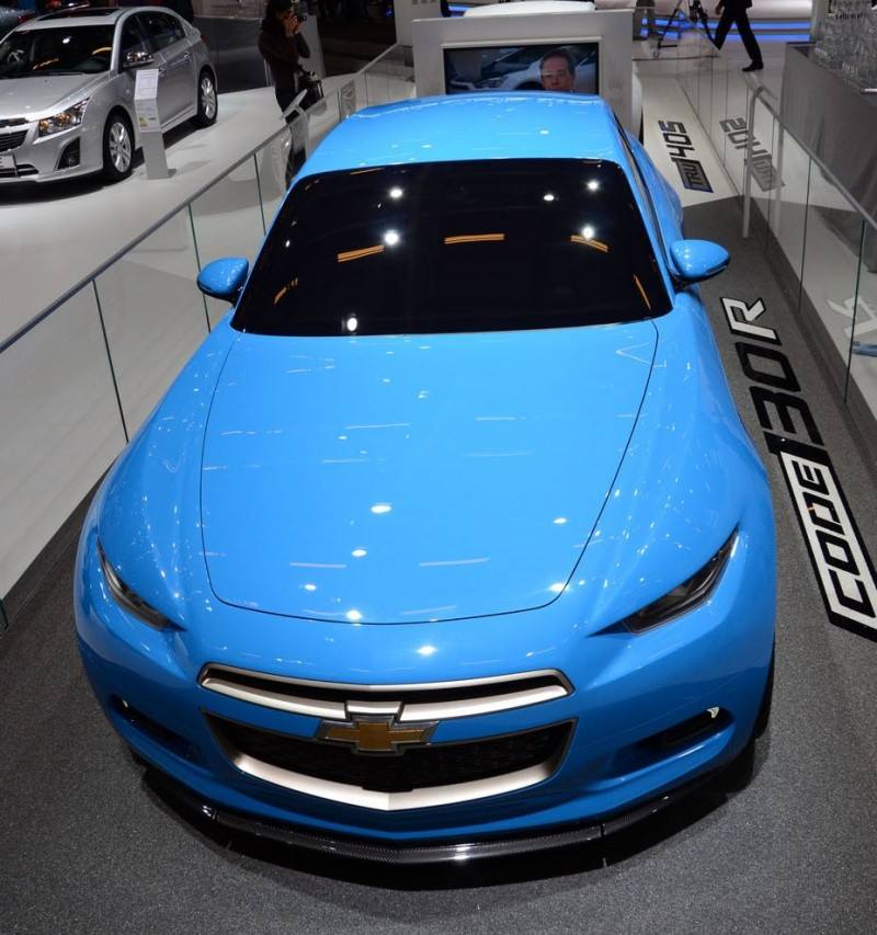 2012 Chevrolet Code 130R Is Rear-Drive, 1.4L Turbo Coupe That Will Never Exist 14