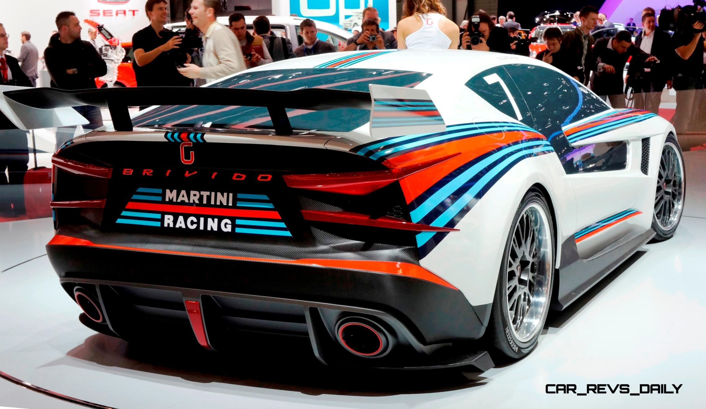 2012 Giugiaro Brivido Martini Racing Honors Lancia Beta