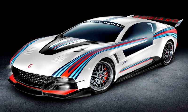 2012 Giugiaro BRIVIDO Martini Racing 5