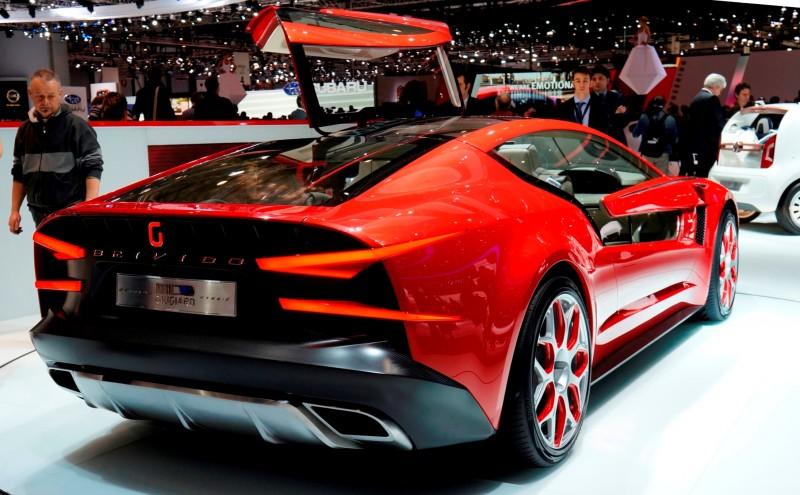 2012 ItalDesign Giugiaro BRIVIDO Concept 1