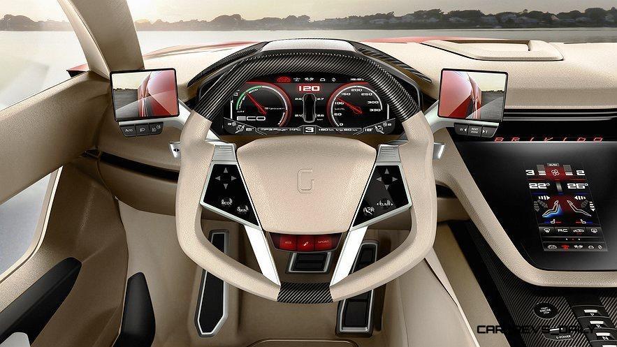 2012 ItalDesign Giugiaro BRIVIDO Concept 13