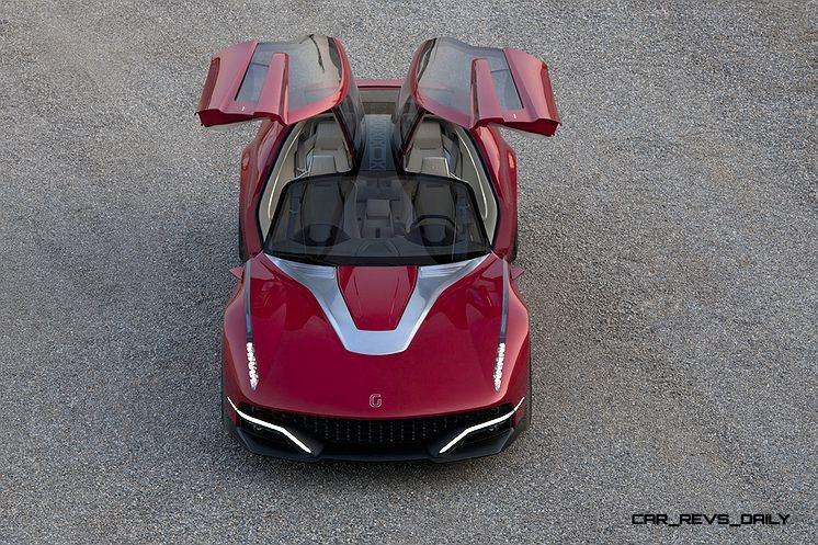 2012 ItalDesign Giugiaro BRIVIDO Concept 16