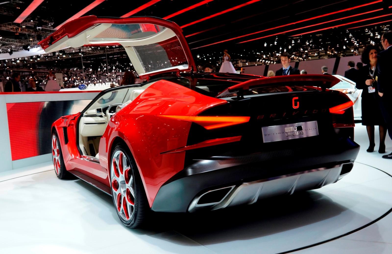 2012 ItalDesign Giugiaro BRIVIDO Concept 2