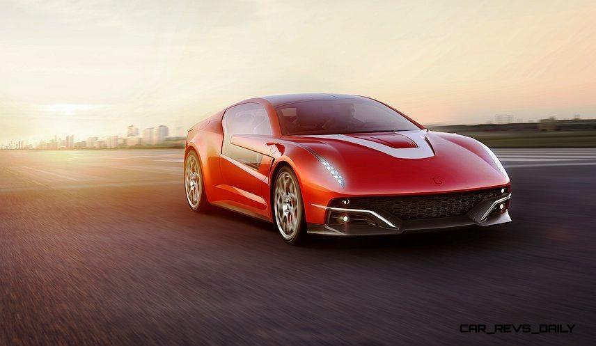 2012 ItalDesign Giugiaro BRIVIDO Concept 23