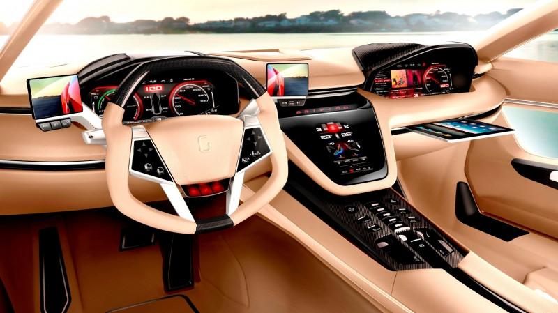 2012 ItalDesign Giugiaro BRIVIDO Concept 36