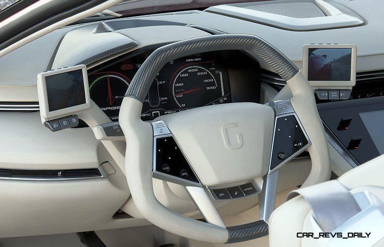 2012 ItalDesign Giugiaro BRIVIDO Concept 38