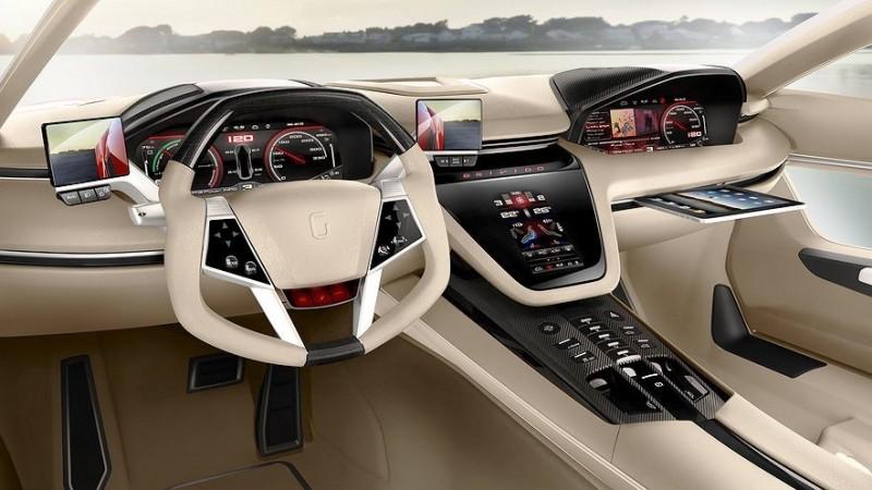 2012 ItalDesign Giugiaro BRIVIDO Concept 39
