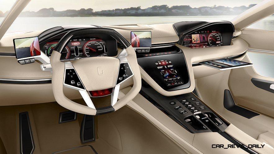 2012 ItalDesign Giugiaro BRIVIDO Concept 40