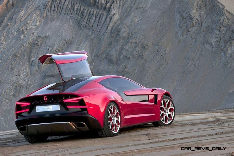 2012 ItalDesign Giugiaro BRIVIDO Concept 42