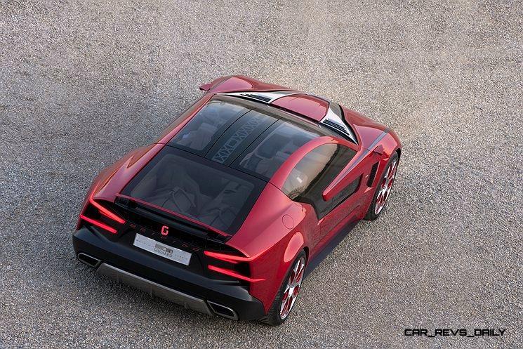 2012 Italdesign Giugiaro Brivido Concept 18