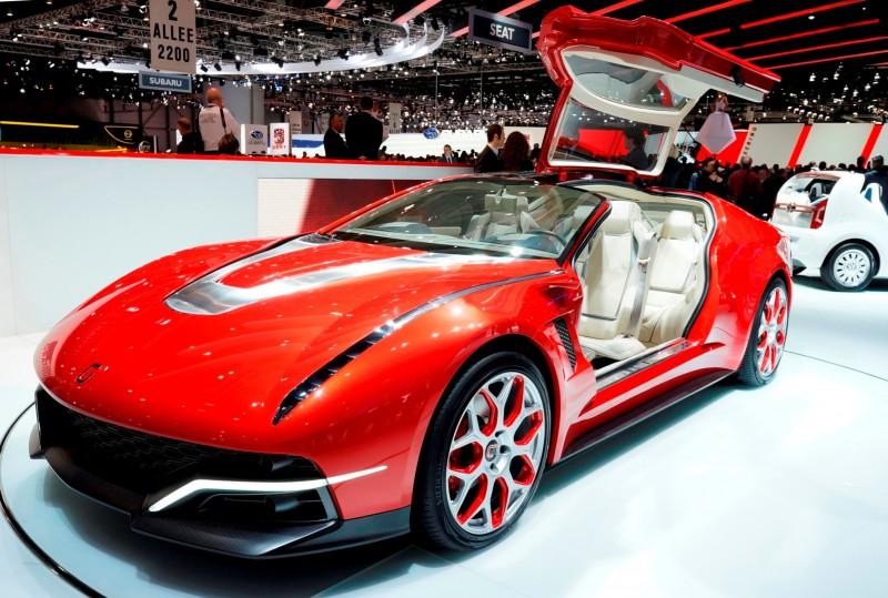 2012 Italdesign Giugiaro Brivido Concept Is Gt With Ultra Modern