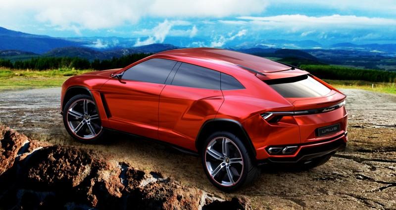 2012 Lamborghini Urus Concept 12