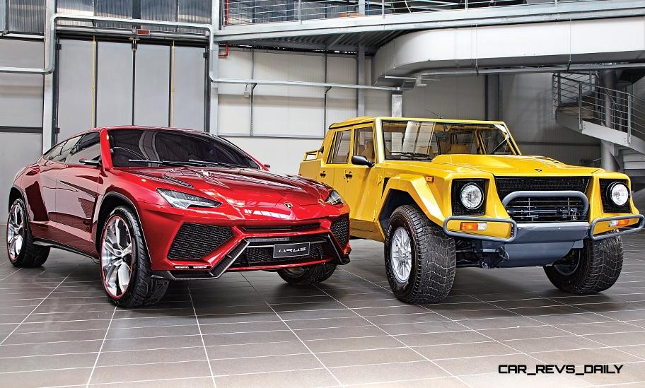 lamborghini paris launch rumored to be all new 2016 urus super suvthe latest bit of news comes from the lamborghini media preview invite for october 2 a profile showing a short and tall model unlike anything mid engined