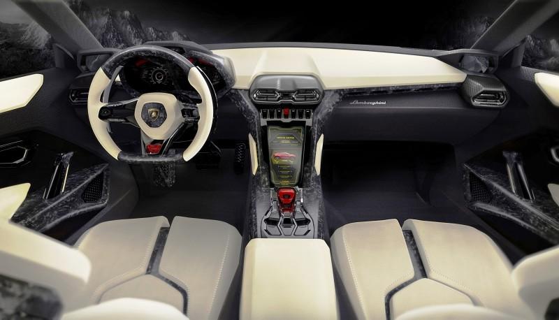 2012 Lamborghini Urus Concept 5