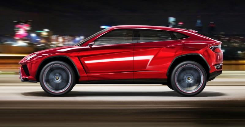 2012 Lamborghini Urus Concept 8