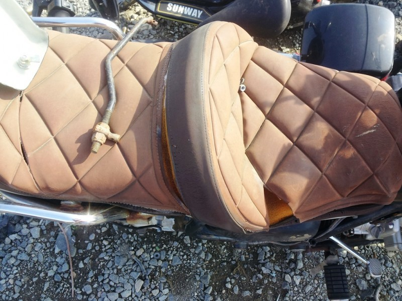 20120614_084747 quilted leather bike seat_7394258712_l