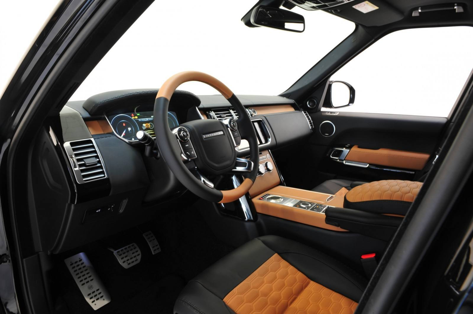 2013-2015 Range Rover By StarTech Brings Best of BRABUS Tech to Lux SUV King 55