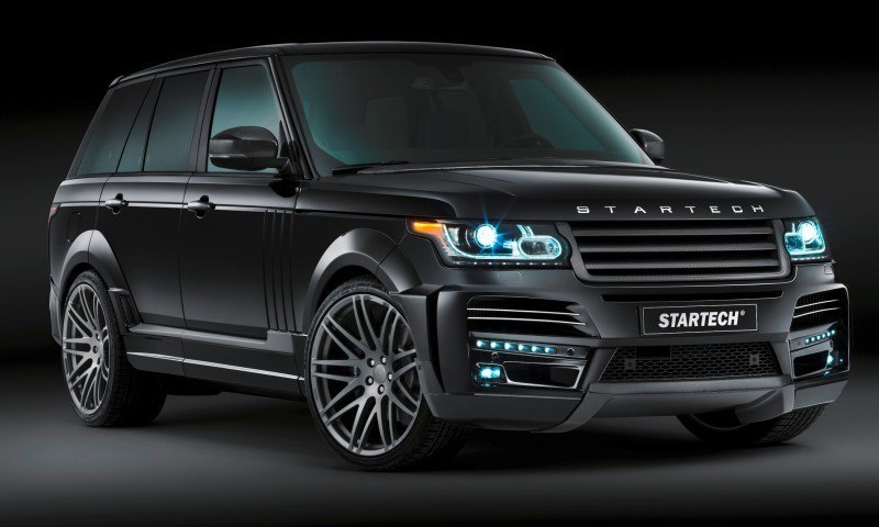 2013-2015 Range Rover By StarTech Brings Best of BRABUS Tech to Lux SUV King 64