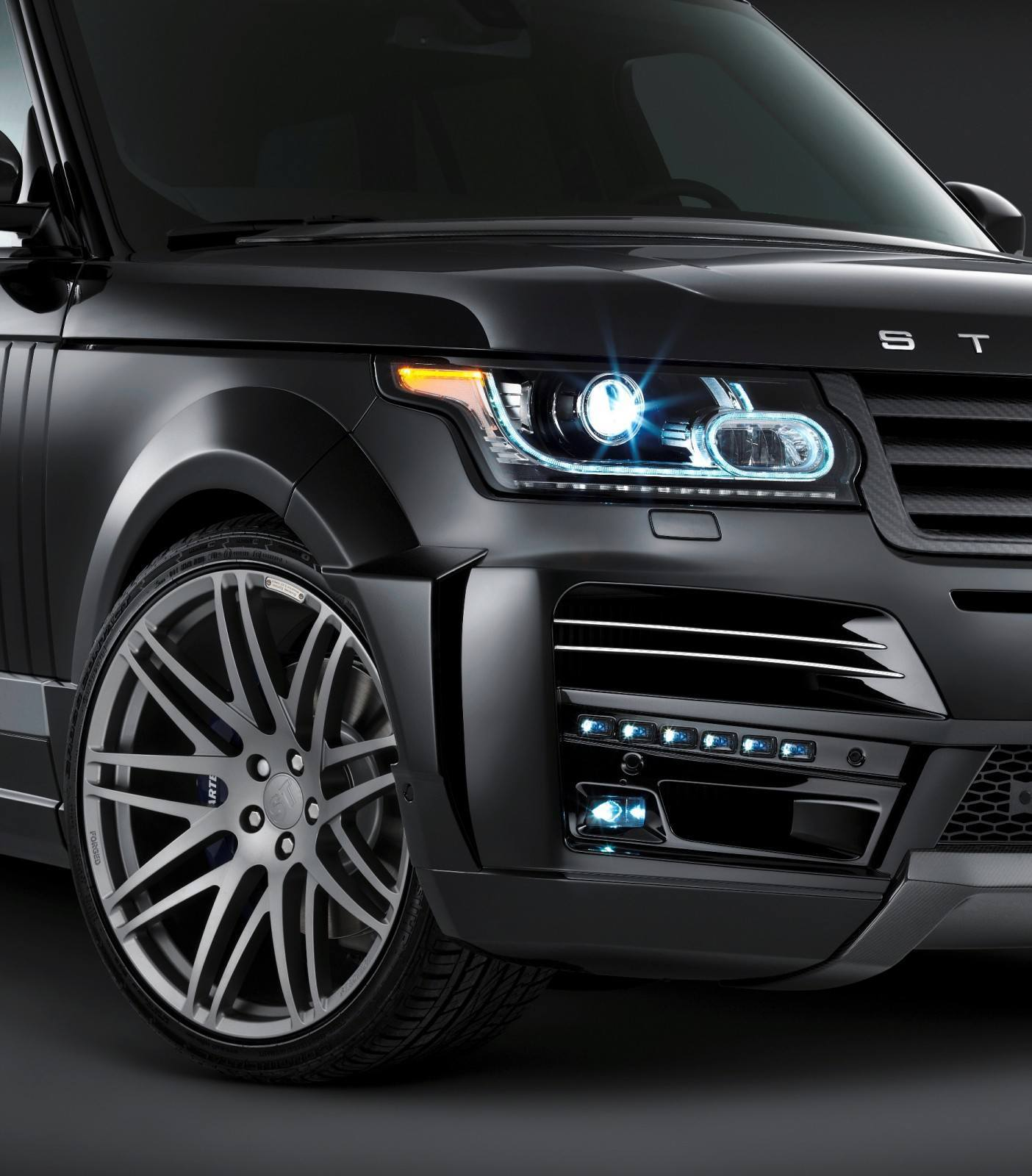 2013-2015 Range Rover By StarTech Brings Best of BRABUS Tech to Lux SUV King 66