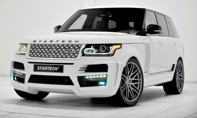 2013-2015 Range Rover By StarTech Brings Best of BRABUS Tech to Lux SUV King 7