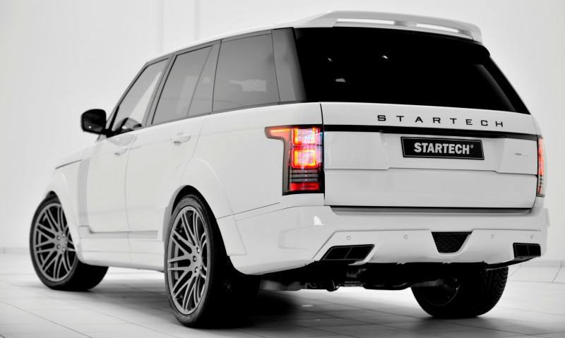 2013-2015 Range Rover By StarTech Brings Best of BRABUS Tech to Lux SUV King 8