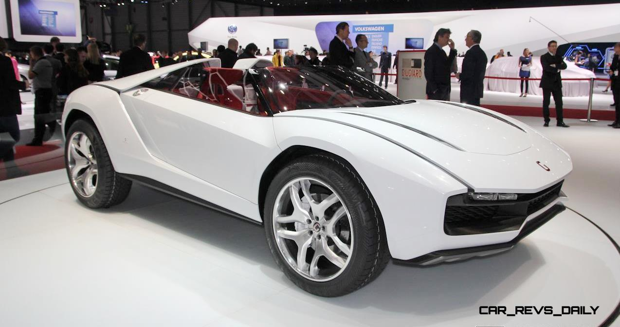 Part Two: 2013 Giugiaro PARCOUR ROADSTER in 50 High-Res Photos