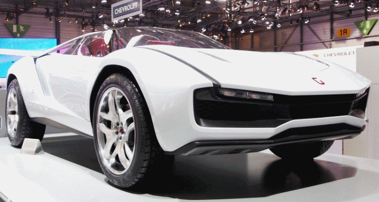 2013 Giugiaro PARCOUR ROADSTER in 50 High-Res Photos gif