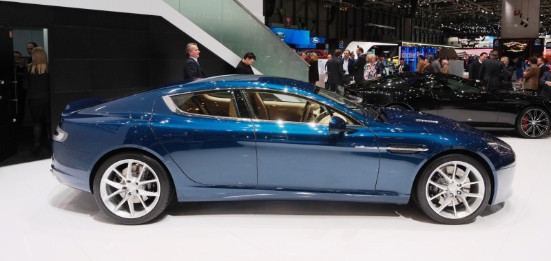 2014 Aston Martin Rapide S Geneva 1