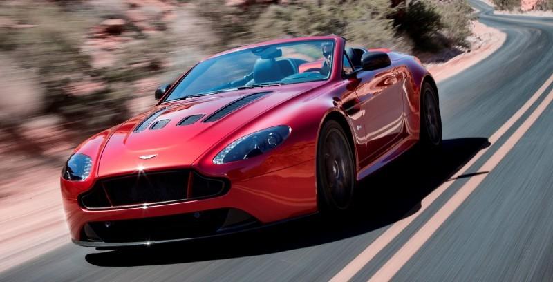 2014 Aston Martin V12 Vantage S Roadster 13