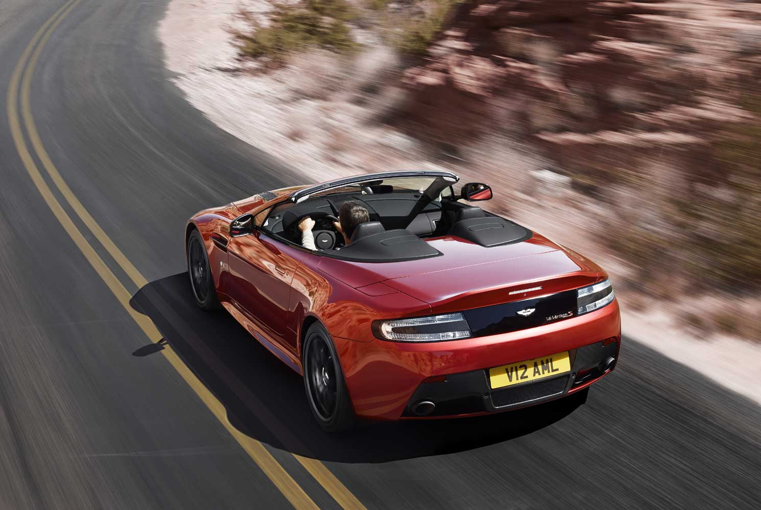 2014 Aston Martin V12 Vantage S Roadster 30