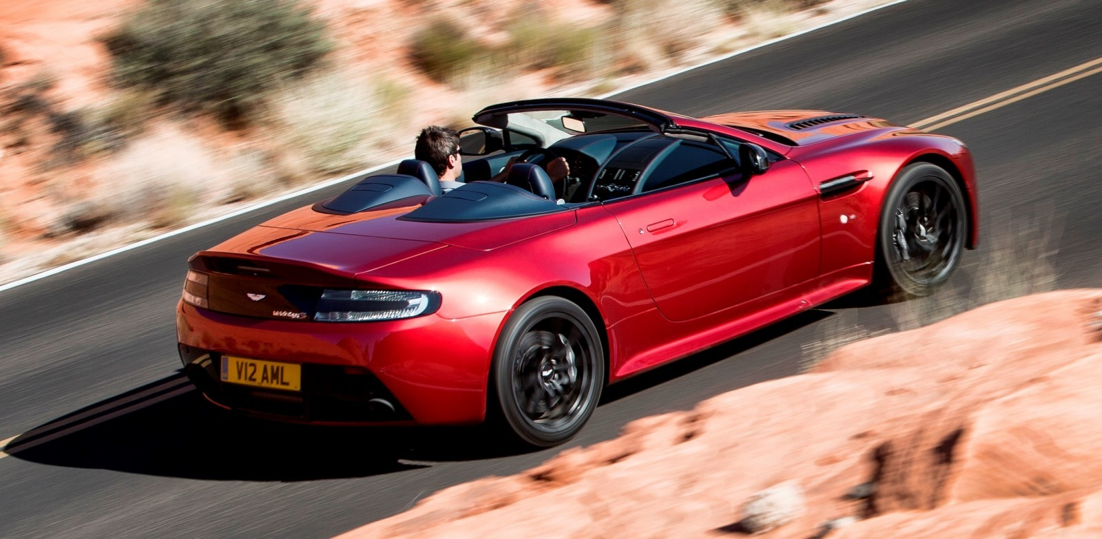 2014 Aston Martin V12 Vantage S Roadster 6